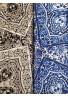 ELACHIC Satin elasticizzato cm. 140 - cachemire blu