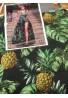 Satin di seta - Ananas